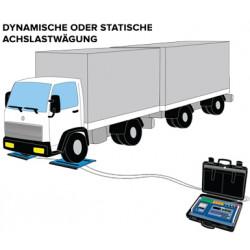 Software AF09 für statische/dynamische Achslastverwiegung