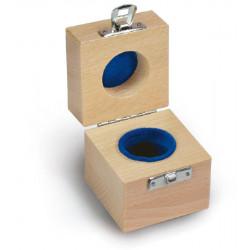 Aufbewahrungsbehälter für Einzelgewicht, Holz