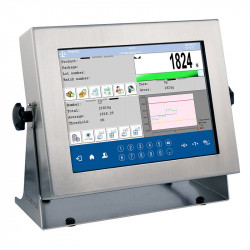 farbiges Touchscreen-Breitband-Display